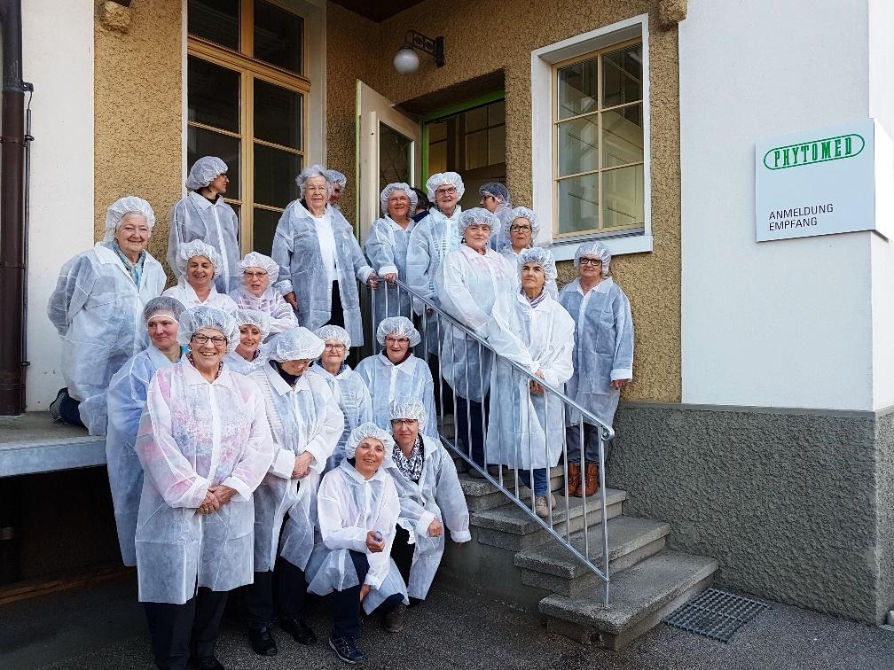 Betriebsbesichtigung Phytomed AG, Oberburg